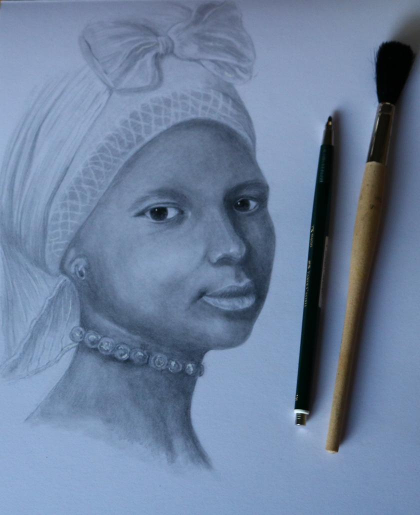 Für Twitter-Challenge Portrait einer afrikanischen Frau