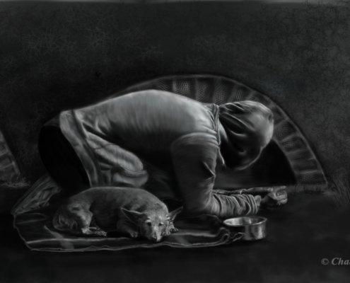 Armut trifft Mensch und Tier