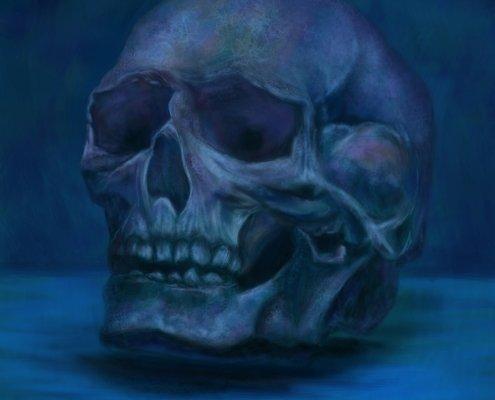 Digitale Malerei - inspiriert von kkgy (DeviantArt)