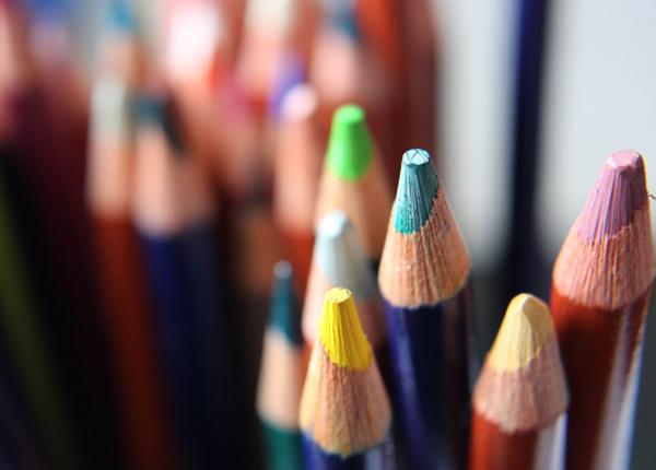 Wann hast du zuletzt mit Buntstiften gezeichnet?
